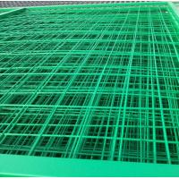 Green PP weld wire backed silt fence used in highway municipal agriculture industry Manufactures