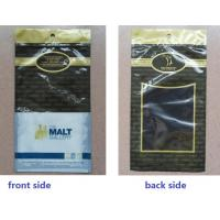 Black Anticorrosive Plastic Cigar Bags For Colombia / Dominica Cigars Manufactures