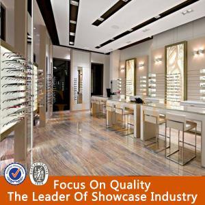 Modern eyewear store interior design Manufactures