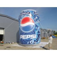 Supermarket Custom Inflatable Products Big Coke Bottle For Advertising Manufactures