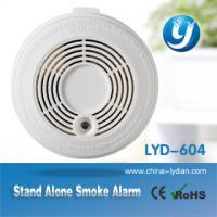 9V Battery Optical Smoke Detector Stand Alone For House / Office Manufactures