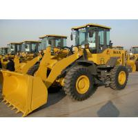 92KW Rated Power Wheel Front End Loader High Full - Load Coefficient Manufactures