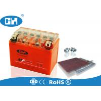 China Three Wheel Motorcycle Vrla Gel Battery , Gel Filled Motorcycle Battery Long Service Life on sale