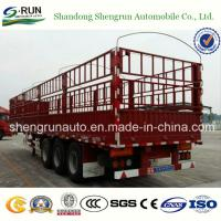 Popular Type of Stake Cargo Semi Trailer in Africa Manufactures