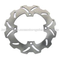 Solid Rear Steel Motorcycle Brake Disc Rotor With Heat Treatment Processing Manufactures
