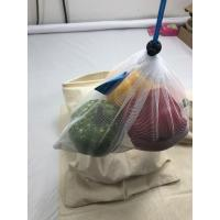 China Durable Plastic Mesh Produce Bags Knitting / Sewing With Neatly Stiching on sale