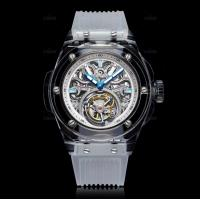 China Green Sapphire Crystal Watch Case Al2O3 Single Crystal Customized Size on sale