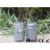 Customized Mason Jar Led Solar Lights , Solar Powered Mason Jar Lantern Manufactures