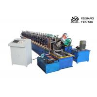 China Column Style Cable Tray Manufacturing Machine / Bracket Frame Roll Forming Machine on sale