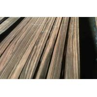 Natural Ebony Sliced Veneer 0.45mm Thickness With A Grade Manufactures