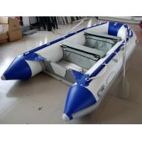 12 Feet Fishing Inflatable Yacht Tenders Aluminum Floor Inflatable Boat 5 Person Manufactures