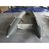 Unique Deep V Bottom Fiberglass Hull Aluminum RIB Boat With Wood Bench Seat Manufactures