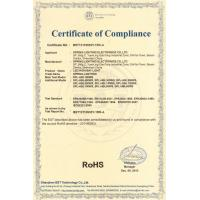 Spring-lighting Electronics Co.,Ltd Certifications