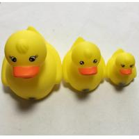Yellow Floating Carnival Baby Rubber Duck Water Resistant With Magnecti Connector Manufactures