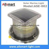 15LED Solar Marine Aquaculture Lights ASE-002 Buoys Navigation Hazard Warning Lights Flash Steady Type Solar Dock Light Manufactures
