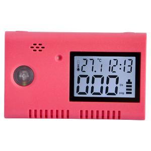 12V Portable USB Red Carbon Monoxide Alarm CO Detector for Car Manufactures