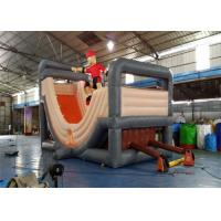 Outdoor Durable Commercial Inflatable Slide , Cheap Inflatable Surf N Slide With Customized Size Manufactures