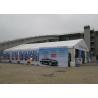 20m - 30m Aluminum Outdoor Event Tent Flame Retardant For Trade Show Manufactures
