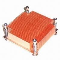 China CPU Cooler with Passive Method, Full Cu Material, Molding Success One Time on sale