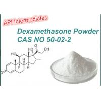 CAS 50-02-2 Anabolic Cutting Cycle Steroids Anti - Inflammatory Dexamethasone Powder Manufactures