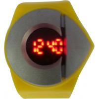 Europe Unisex Gender Custom Red Light Led Touch Screen Watches Novelty Case Design Manufactures