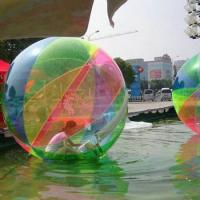 Colorful Transparent Inflatable Walking Ball For Water Amusement Park Manufactures