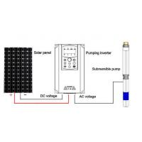 China ISO9001 Standard Solar Water Pump Controller / Water Pump Inverter Controller on sale