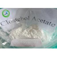 White Crystalline Powder Clostebol Acetate / Testosterone Anabolic Steroid CAS 855-19-6 Manufactures