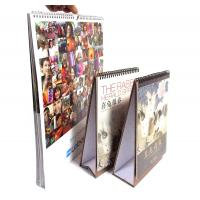200gsm glossy art papr with glossy lamination Customized Calendar Printing Manufactures