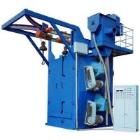 Electric Fuel Hook Type Shot Blasting Machine For Lpg Cylinder Manufactures