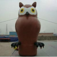 Large Nighthawk Animal PVC Inflatable Advertising Products Customized Manufactures
