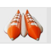 Quality Large Water Rescue 8 Person Flying Inflatable Banana Boat For Adults / Kids for sale