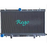 Custom Made 4 Core Aluminum Car Radiators For Subaru Wrx 2002 3.0l Manual Manufactures