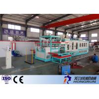 Ps Foam Food Box Making Machine , Thermo Vacuum Forming Machine High Capacity Manufactures