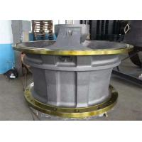 Cone Crusher Bottom Shell / Alloy Steel Upper Shell With Heat Treatment Manufactures