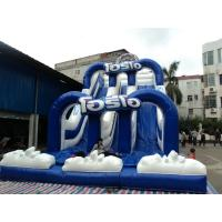 Animal Shape Commercial Inflatable Sports Games For Kids , Sponge Bob Slide Manufactures