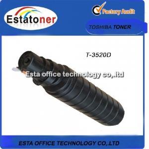 Compatible Black Toshiba E-studio Toner , Original Copier Toner  T-3520D Manufactures