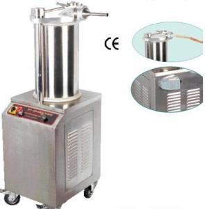 Rapid Sausage Processing Equipment 750W Hydraulic Sausgae Filler CE Certification Manufactures