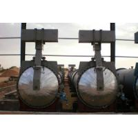 Saturated Steam AAC Concrete Autoclave For Wood / Brick / Rubber / Food Manufactures