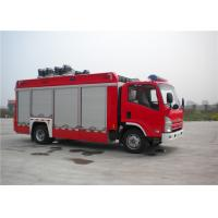 Buy cheap 139kw 4x2 Drive ISUZU Chassis Light Fire Truck With LED Light Source from wholesalers