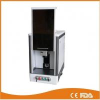 Full enclosed model fiber laser marking machine, laser power 20W Manufactures