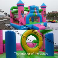 indoor mini bouncy castle indoor inflatable princess bouncy castle Manufactures