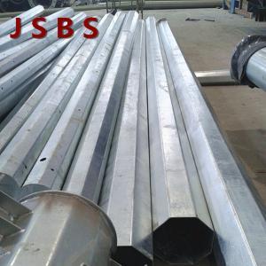 Quality Super Power Steel Transmission Poles , OEM / ODM Design Steel Power Pole for sale