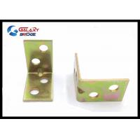 Zinc Alloy / Iron Furniture Fittings Hardware 16mm Width Corner Support Manufactures