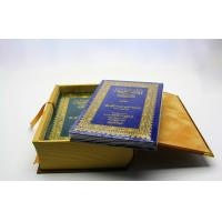 Quality Sewn Binding Hardcover Photo Book Printing With Laminated And Foil Stamping Cover for sale