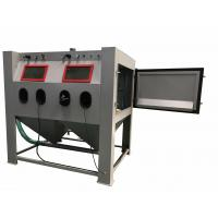 Suction Automatic Sandblasting Machine with filter dust collector Manufactures