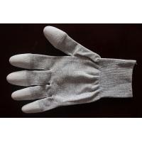 Copper Top/Palm PU Coated Conductive Gloves Manufactures