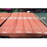 Straight Grain Natural Sliced Sapele Wood Veneer Plywood Sheets Manufactures