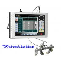 Digital TOFD Ultrasonic Flaw Detector Negative square wave pulse adjustable TOFD400 Manufactures
