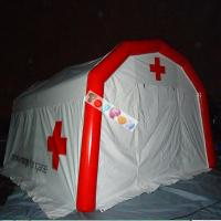 PVC Airtight Inflatable Medical Tent Most Practical Air Sealed Inflatable Rescure Tent Manufactures